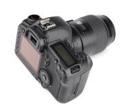 现代数字式SLR照相机 图库摄影
