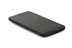 黑现代智能手机 库存照片