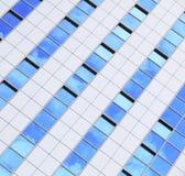 现代未来派企业大厦在城市 库存照片