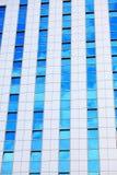 现代未来派企业大厦在城市 库存图片
