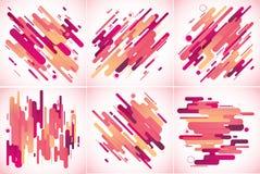 现代条纹抽象背景 免版税库存照片