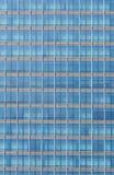 现代结构上大厦详细资料门面的玻璃 背景 免版税图库摄影