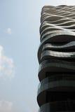现代结构上的大厦 免版税图库摄影