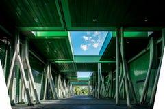 现代结构和材料安全的 免版税图库摄影