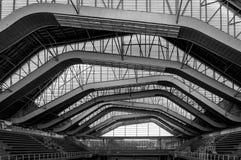 现代结构和材料安全的 免版税库存照片