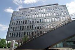现代结构在布拉格 免版税库存照片