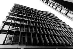 现代结构的城市 免版税库存图片