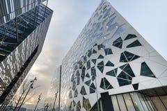 现代结构的大厦 图库摄影