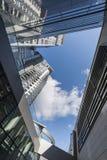 现代结构的大厦 库存图片