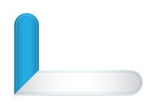 现代标签模板 免版税库存图片