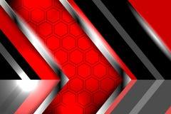 现代样式摘要红色背景 免版税图库摄影