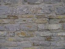 现代样式的样式灰色颜色 古色古香自然阻碍 与水泥的石墙表面 石头或块 免版税库存图片