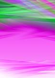 现代桃红色和绿色背景设计 免版税库存照片