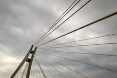 现代桥梁的元素 库存图片