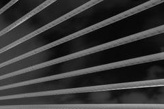 现代桥梁建筑学- Jambatan Seri Wawasan 免版税库存照片