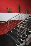 现代楼梯 免版税图库摄影