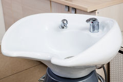 现代水槽 免版税库存照片