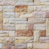 现代模式石墙 免版税库存图片