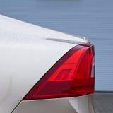 现代汽车的详细资料 库存照片