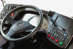 现代汽车仪表板 屏幕多媒体系统 免版税库存照片
