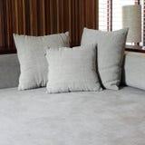 现代沙发 免版税库存照片