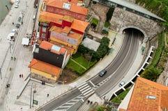 现代波尔图都市风景  葡萄牙 免版税库存照片