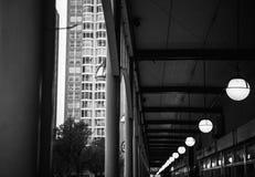 现代海牙小室Haag市中心建筑学  荷兰 免版税库存照片