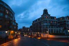 现代海牙小室Haag市中心建筑学  荷兰 图库摄影