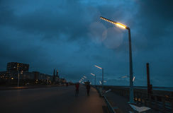 现代海牙小室Haag市中心建筑学  荷兰 库存照片