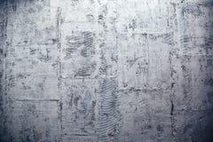现代混凝土墙由块做成 免版税库存照片