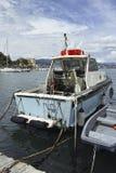 现代渔船 图库摄影