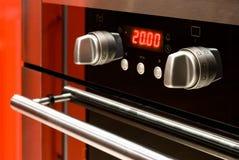 现代烤箱 免版税库存照片
