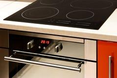 现代烤箱 图库摄影