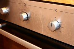 现代烤箱 免版税库存图片