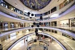 现代购物中心在巴黎 免版税库存照片