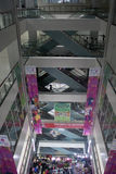 现代购物中心 库存照片