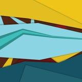 现代物质设计背景模板 免版税图库摄影