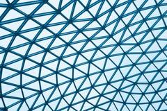 现代玻璃大厦圆顶 免版税库存照片