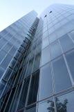 现代玻璃大厦 库存照片