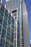 现代玻璃摩天大楼 免版税图库摄影