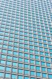 现代玻璃skycraper墙壁背景 免版税库存图片