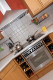 现代的厨房 图库摄影
