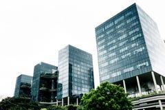 现代的大厦 免版税库存图片
