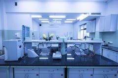 现代的实验室 免版税库存图片