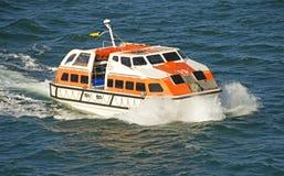 现代的救生艇 免版税库存照片