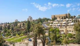 现代的耶路撒冷 图库摄影