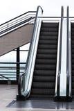 现代的自动扶梯 库存图片