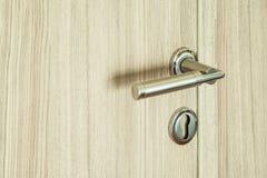 现代的门把手 免版税库存照片