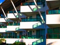 现代的阳台 免版税图库摄影