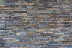 现代石墙纹理 免版税库存照片